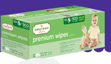 simply right wipes recall