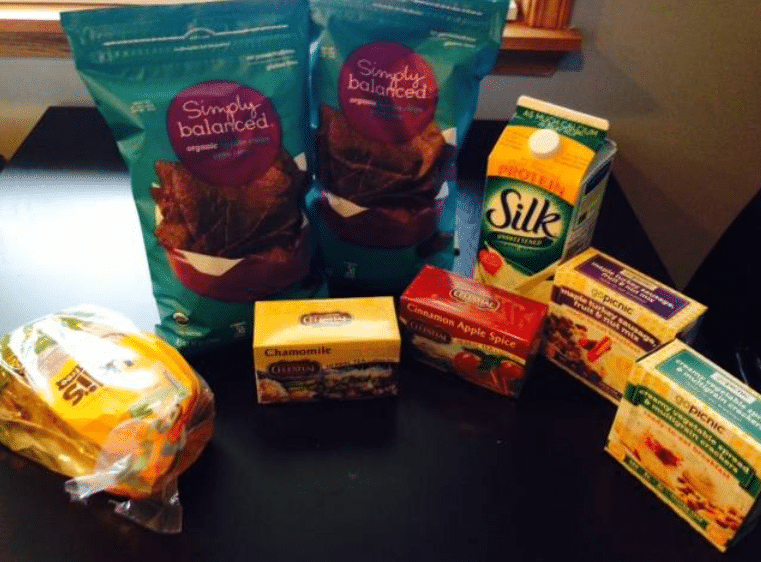 target organic deals $10