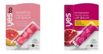 yes to lip balm