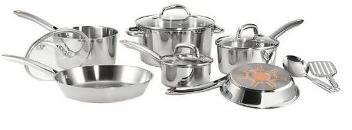 amazon stainless steel cookware
