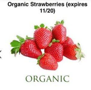 berry cart strawberries