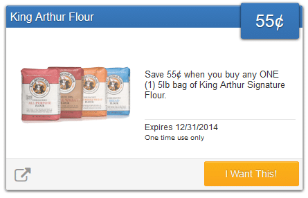 king arthur coupon