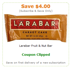 larabar amazon coupons