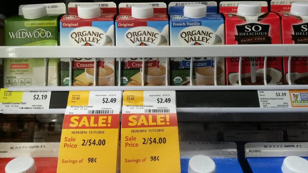 organic valley creamer whole foods
