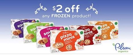 plum organics frozen kids product coupon