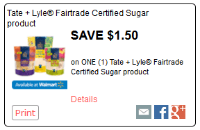 tate and lyle rollback walmart