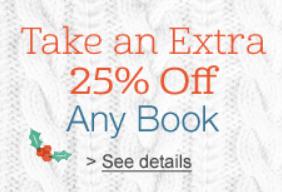 amazon 25 off book code