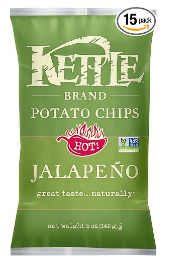 amazon warehouse kettle chips