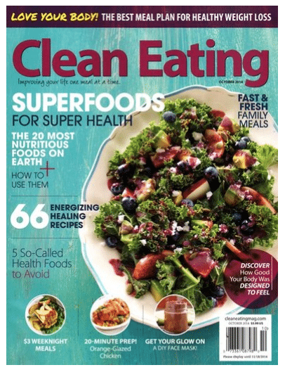 clean eating magazine deal