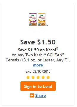 kashi coupon kroger