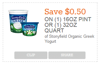 stonyfield organic coupon