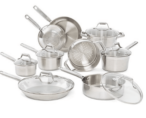t fal stainless steel cookware amazon