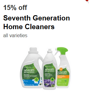 target seventh generation cartwheel coupon