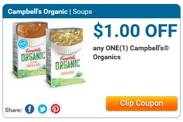 campbells organic soup