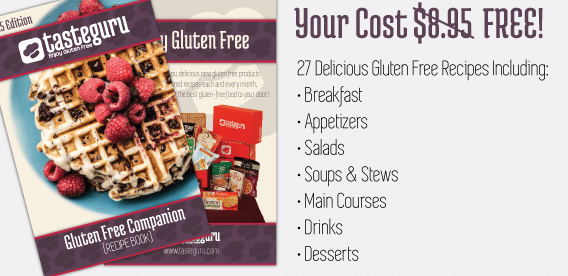 free gluten free recipes book