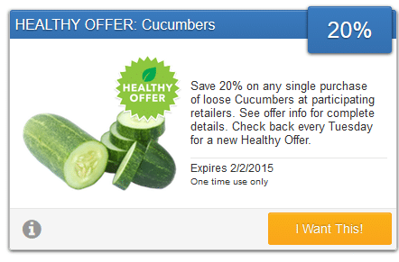 savingstar cucumber