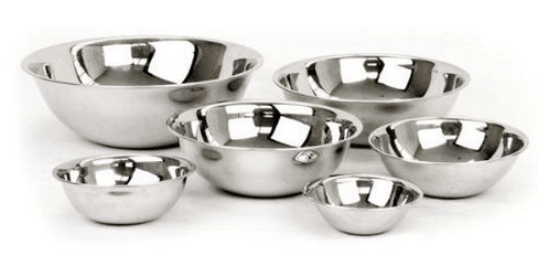 stainless steel mixing bowl set amazon