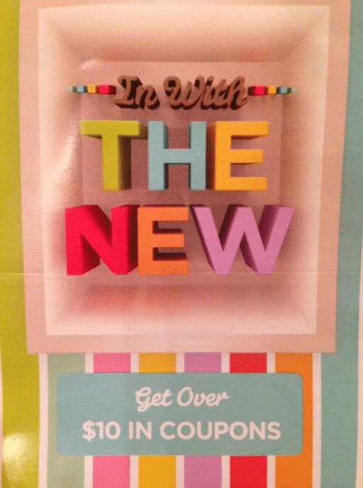target new year coupon booklet