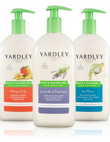 yardley body wash dollar store