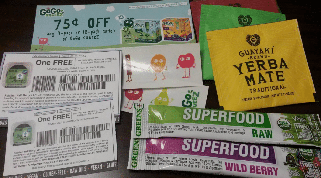 free mailed natural and organic coupons