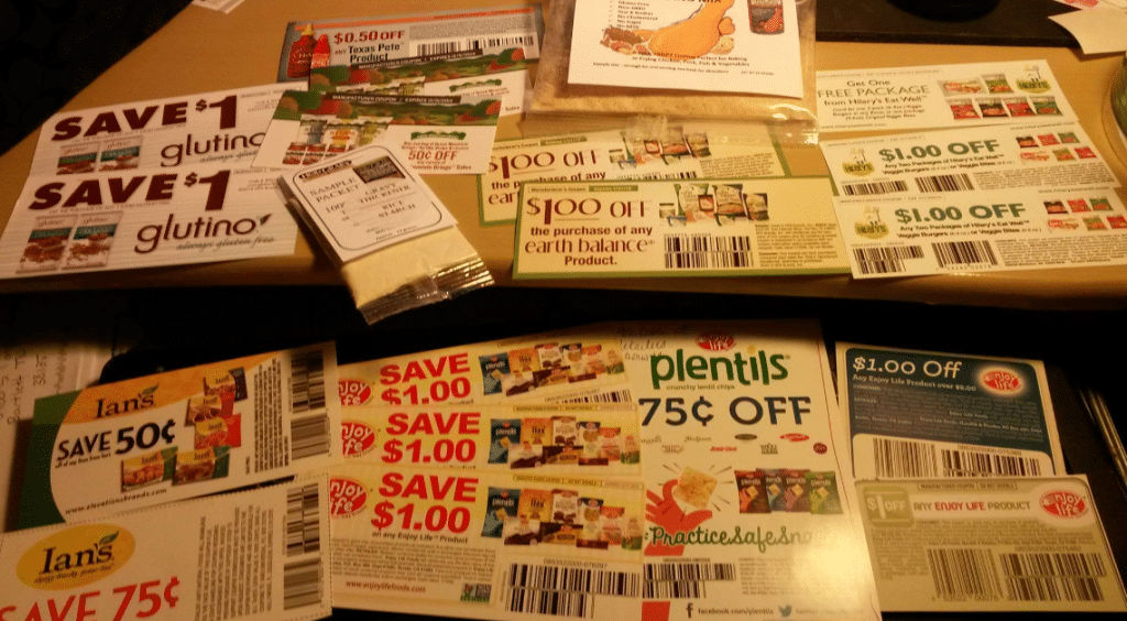 free mailed organic coupons