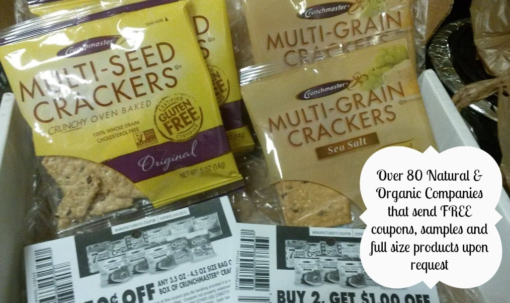 free organic coupons and samples