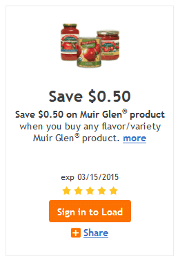 muir glen kroger coupons