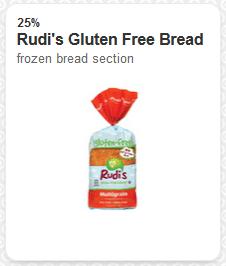 rudis gluten free bread target coupon