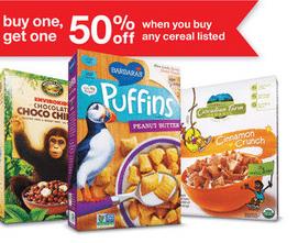 target organic coupon matchups 21