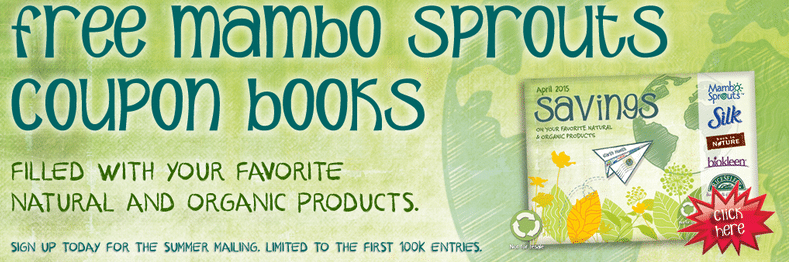 free mambo sprouts organic coupons booklet