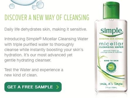 free simple sample