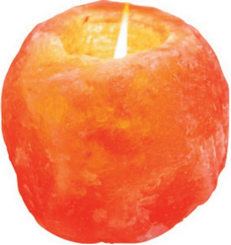 himalayan crystal candle