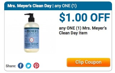 mrs. meyer's coupon