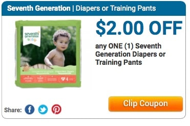 seventh generation diapers coupon