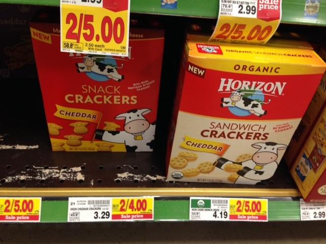 Kroger horizon cracker sale