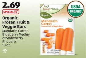 aldi organic fruit bars