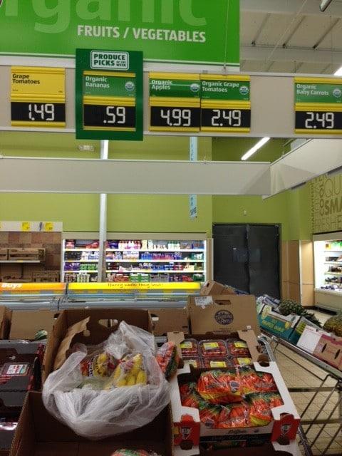 aldi organic product list