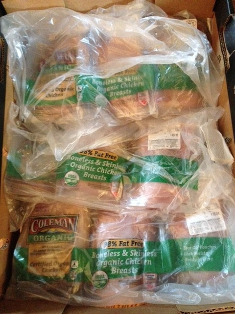 costco organic chicken