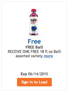 free bai5 kroger