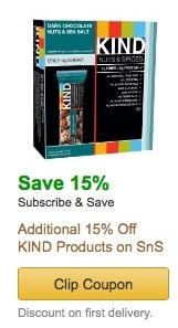 kind bar amazon coupon