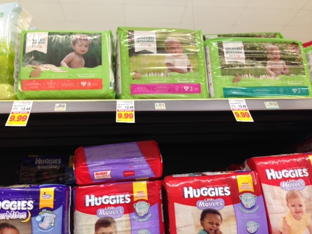 kroger seventh generation diapers