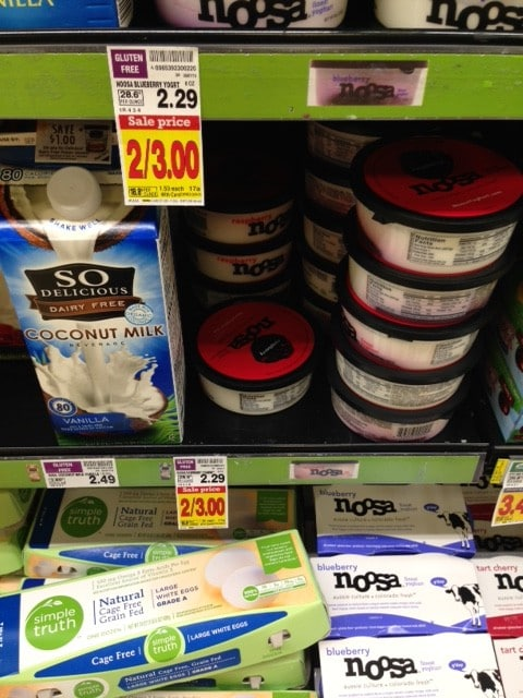 noosa yogurt kroger