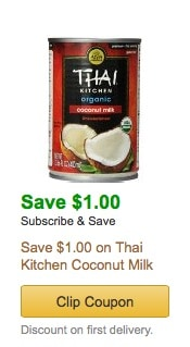 organic coconut milk amazon coupon