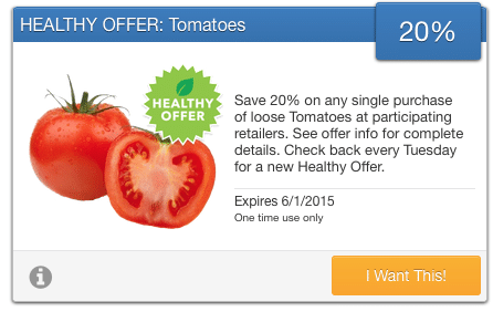organic tomato coupons