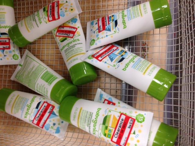 target babyganics sunscreen