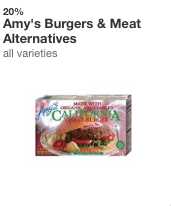 Amy's Kitchen target coupon