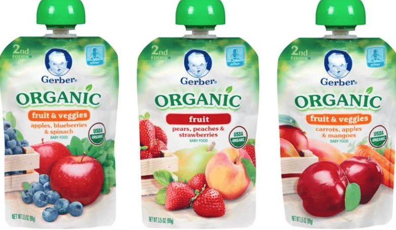 gerber organic pouches coupon