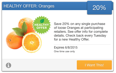 organic orange coupon