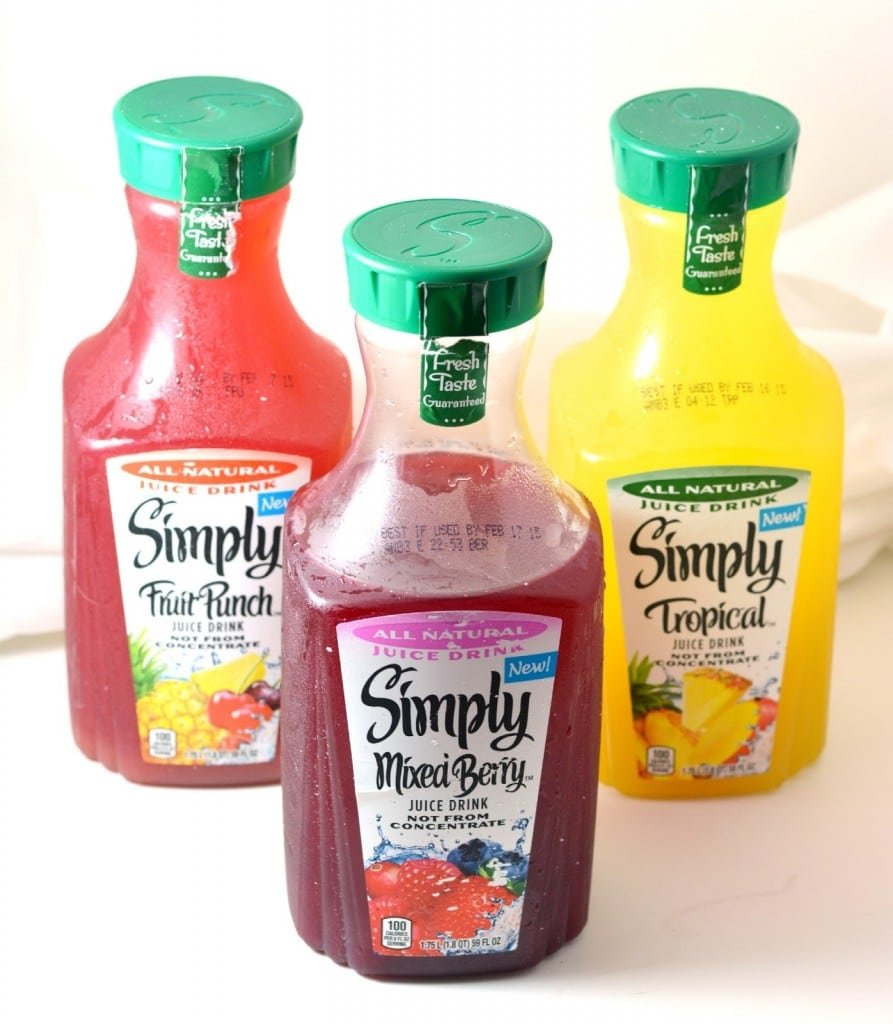 simply juice drinks new flavors