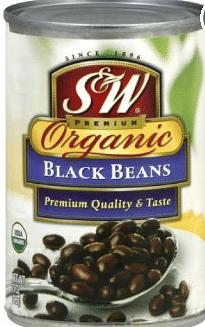s&w organic beans coupon